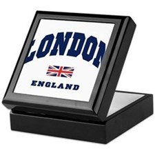 London England Union Jack Keepsake Box
