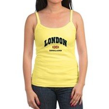 London England Union Jack Tank Top