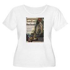 Adventures of Tarzan Elmo Lincoln Plus Size T-Shir
