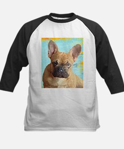 Adorable French Bull Dog Baseball Jersey