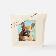 Adorable French Bull Dog Tote Bag