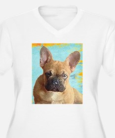 Adorable French Bull Dog Plus Size T-Shirt
