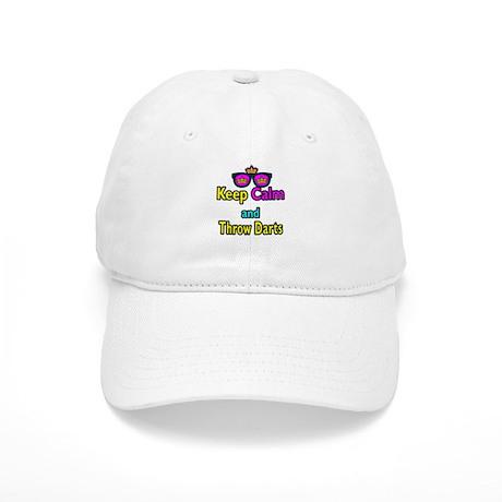 Crown Sunglasses Keep Calm And Throw Darts Cap