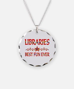 Libraries Best Fun Necklace