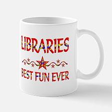 Libraries Best Fun Mug