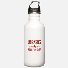 Libraries Best Fun Water Bottle