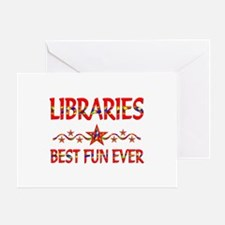 Libraries Best Fun Greeting Card