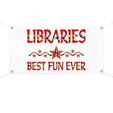 Libraries Best Fun Banner