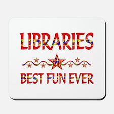 Libraries Best Fun Mousepad