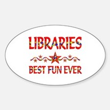 Libraries Best Fun Decal