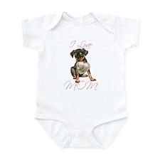 Min Pin Mom Infant Bodysuit