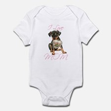 Min Pin Mom Infant Bodysuit