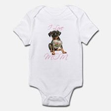 Min Pin Mom Onesie