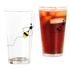 bee Drinking Glass