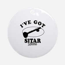 I've got Sitar skills Ornament (Round)