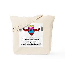 Gym Ham (Squat) Tote Bag
