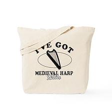 I've got Medival Harp skills Tote Bag