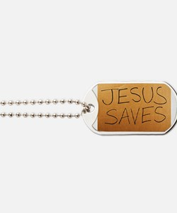 Cute Christian boxes Dog Tags