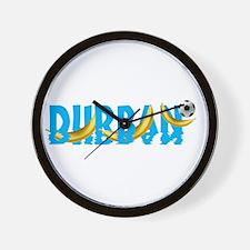 Durban Football Wall Clock