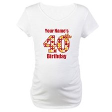 Happy 40th Birthday - Personalized! Shirt
