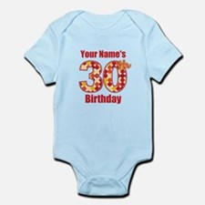 Happy 30th Birthday - Personalized! Body Suit