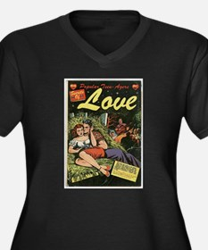 Popular Teen-Agers Secrets of Love Plus Size T-Shi