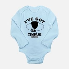I've got Timpani skills Long Sleeve Infant Bodysui