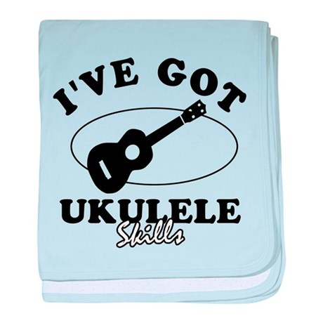 I've got Ukulele skills baby blanket