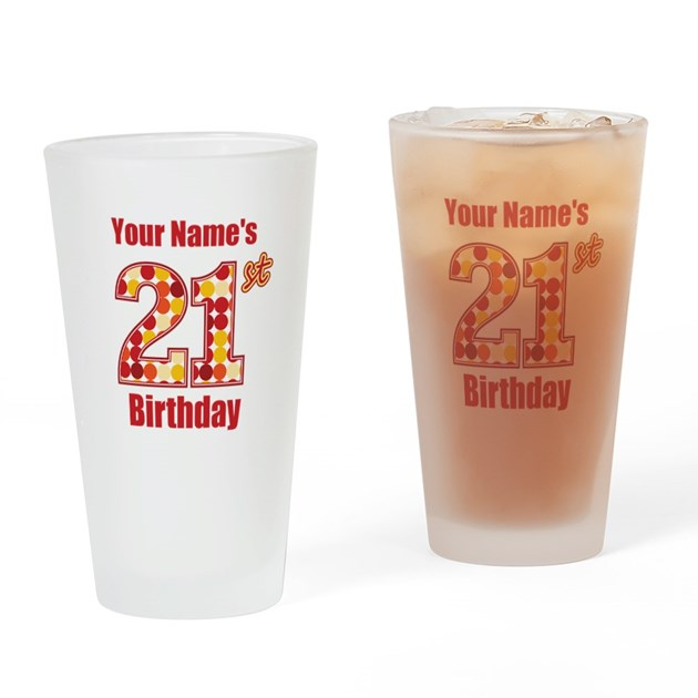 Personalized! Drinking Glass By