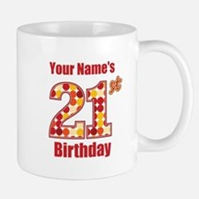 Happy 21st Birthday - Personalized! Small Small Mug