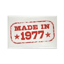 Made In 1977 Rectangle Magnet