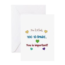 You is...design Greeting Card