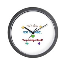 You is...design Wall Clock