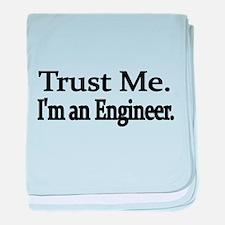 Trust Me. Im an Engineer baby blanket