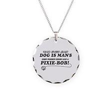Pixie-Bob Cat designs Necklace
