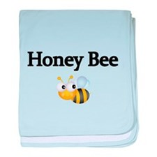Honey Bee baby blanket