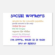 Social Work Postcards (Package of 8)