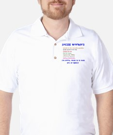 Social Work Golf Shirt