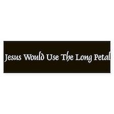jesus would Bumper Bumper Sticker