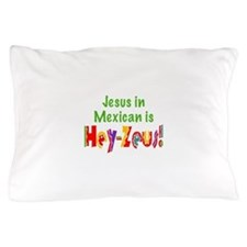 Jesus in Mexican Pillow Case