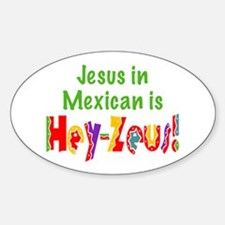 Jesus in Mexican Decal