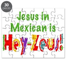 Jesus in Mexican Puzzle