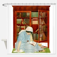 LOST HORIZONS by Coles Phillips Shower Curtain