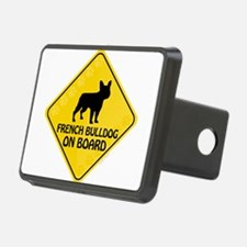 French Bulldog On Board Hitch Cover