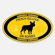 French Bulldog On Board 2 Decal