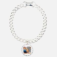 Rosie Keep Calm MS Charm Bracelet, One Charm