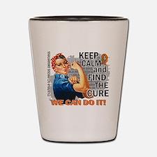 Rosie Keep Calm MS Shot Glass