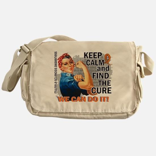 Rosie Keep Calm MS Messenger Bag