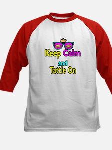 Crown Sunglasses Keep Calm And Tattle On Tee
