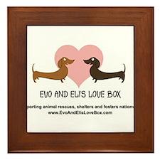 Love Box Logo, website and mission statement Frame